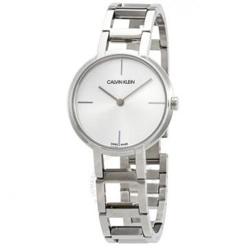 【包郵包稅】Calvin Klein Cheers Quartz Silver Dial Ladies Watch