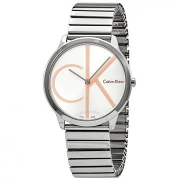 【包郵包稅】 京東同款1190元~Calvin Klein Minimal Silver Dial 男款 Watch K3M21BZ6