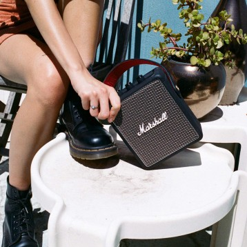 1103.90元免费德国直邮!MARSHALL 马歇尔 STOCKWELL II便携式无线蓝牙音箱