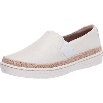 353.14美国直邮!Clarks 女士 Marie Sail 乐福平底鞋 小白鞋