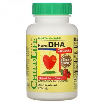 73.64元包税直邮!ChildLife 童年时光 纯正DHA鱼油 天然浆果味 90粒软胶囊(6个月+)