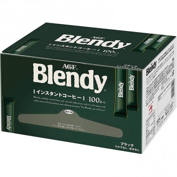 JP¥1291日元!AGF Blendy 无糖速溶黑咖啡 100条(返39pt)