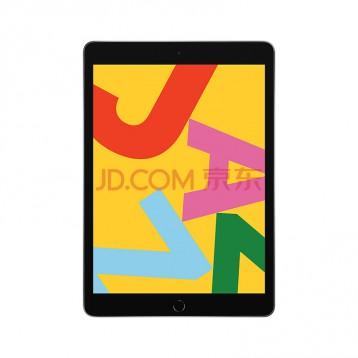 2649元秒杀!Apple iPad 平板电脑 2019年新款10.2英寸(128G WLAN版/iPadOS系统/Retina显示屏/MW772CH/A)