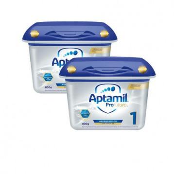 €55欧元包邮包税!Milupa Aptamil 爱他美白金版婴儿配方奶粉 1段(0-6个月)800gx2盒