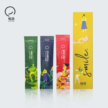 原葉茶體驗裝:悅茶 LATTEA 獨立小包原葉茶 (雨林紅茶/福鼎白茶/陳皮普洱)