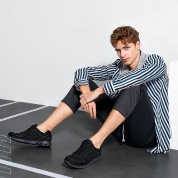 ECCO爱步 wayfly微翔 男士真皮休闲运动鞋 亚马逊海外购