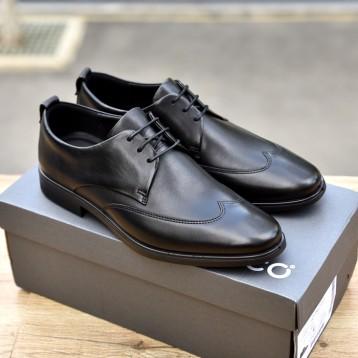 538.41元英国直邮【2020新款】ECCO 爱步  Melbourne Derbys 尖头牛津鞋(黑色/42码)