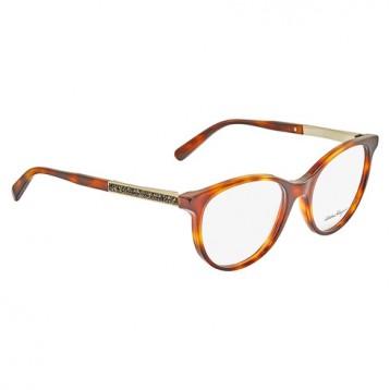 $59.99美金!SALVATORE FERRAGAMO 菲拉格慕 Light Havana Cateye Ladies Eyeglasses猫眼女士框架镜