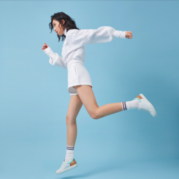 ECCO 爱步 Soft 7 Street 柔酷7号 女士拼色运动休闲鞋 亚马逊海外购