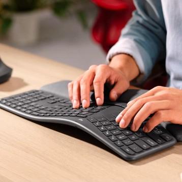 Logitech 罗技 ERGO K860人体工学键盘 亚马逊海外购