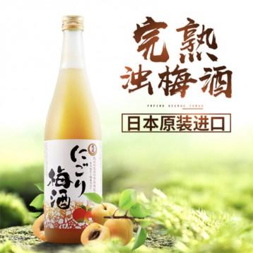 日本原裝進口  大關牌梅子清酒 完熟濁梅酒720ml+送2只口杯 ¥149元包郵