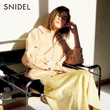 SNIDEL SWFJ201015 休闲系带灯芯绒夹克外套 亚马逊海外购