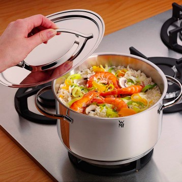 WMF 福腾宝 Gala Plus系列 不锈钢锅具7件套  亚马逊海外购