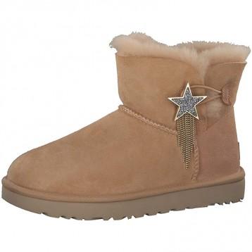 726.34元英国直邮!UGG Mini Bailey Star 女靴