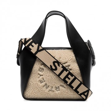新季!Stella McCartney 纯素皮毛一体手提包 ¥6950元