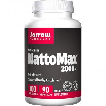 136.16美国直邮!Jarrow Formulas NattoMax 纳豆精华胶囊100毫克(90粒)