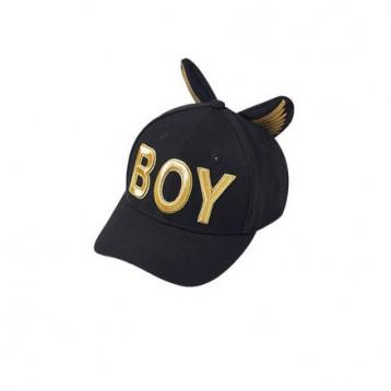 249元包郵包稅!BOY LONDON 韓國飛鷹兒童棒球帽 B01CP1102K黑金均碼