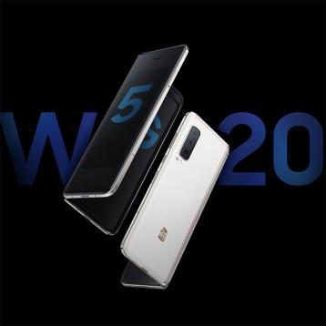 17999京东秒杀【神机】三星 SAMSUNG 心系天下W20 5G(SM-W2020)折叠屏手机