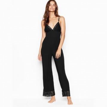 $26.99美金!维密 Heavenly by Victoria Supersoft Modal Jumpsuit 吊带连体睡衣