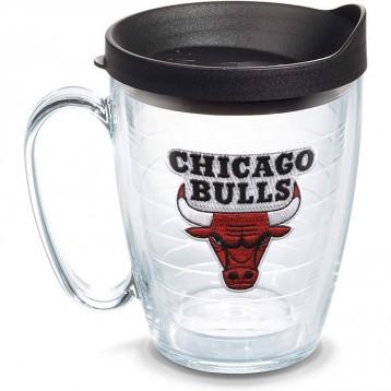 139.81元美國直郵!Tervis 1062438 NBA 芝加哥公牛隊 主徽標玻璃杯馬克杯