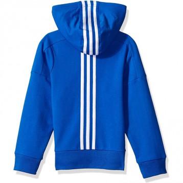 187.44元美国直邮!adidas 阿迪达斯 男童厚绒连帽运动夹克(2-16岁)