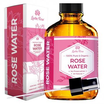 160.94元美国直邮【值得信赖的玫瑰水】Leven Rose 纯天然摩洛哥玫瑰水118ml