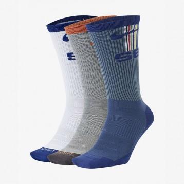 新低55.30元包邮【凑单品】滑板运动袜 Nike SB Everyday Max Lightweight 3双组(28-30码)