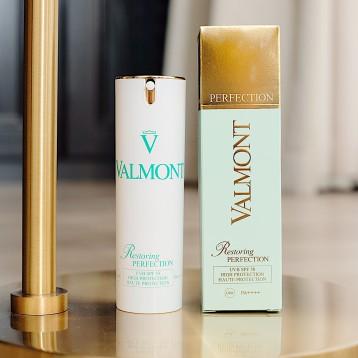 新低:瑞士皇后级护肤品,Valmont 法尔曼 清透亮颜修护防晒霜 spf50/30ml