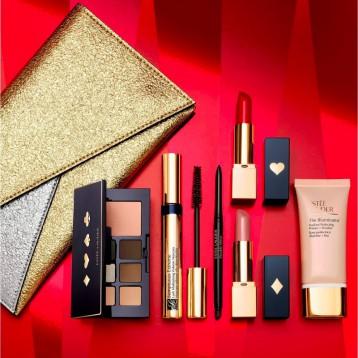Estee Lauder  雅詩蘭黛 派對閃光7件彩妝套盒 亞馬遜海外購