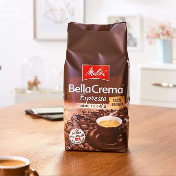 78.75元德國直郵【限時新低】德國美樂家melitta 意式特濃咖啡豆1kg(4-5深度烘焙)
