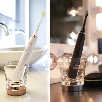 Philips飞利浦Diamond Clean HX9392/39 声波电动牙刷(2支装)