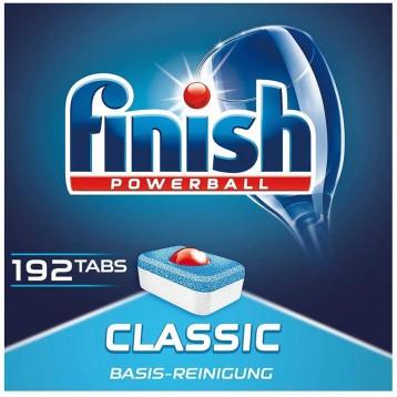179.46元德国直邮!Finish Classic 洗碗机用洗涤块 192片巨量装