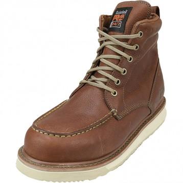 549.38元美国直邮!Timberland PRO 男士 53009 坡跟鞋底 6英寸软头靴子(US9/42码)
