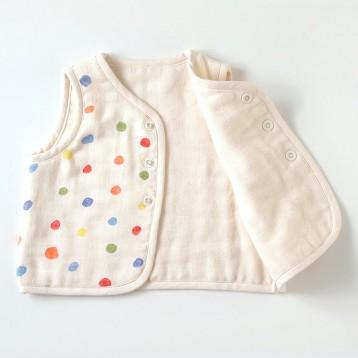 Naomi Ito 婴儿童六层纱布马甲 亚马逊海外购