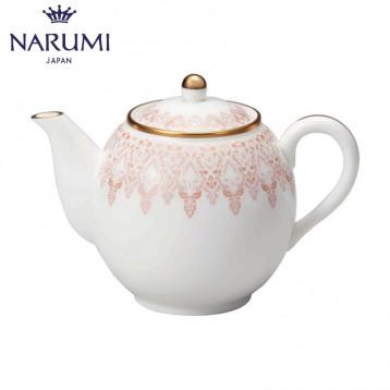 NARUMI 鸣海 AURORA 罗拉 迷你骨瓷咖啡茶壶 330cc  亚马逊海外购