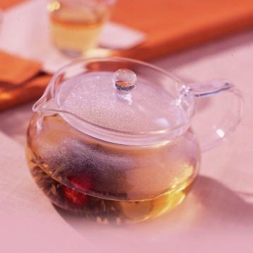 HARIO 好璃奥 CHJMN-45T 日式丸形耐热玻璃茶壶  亚马逊海外购