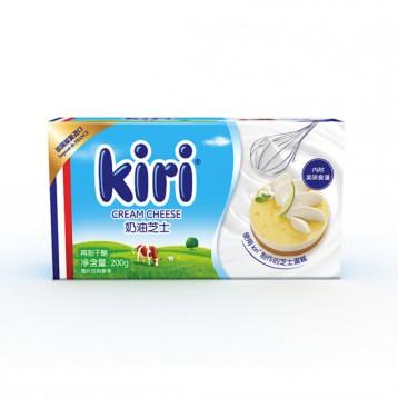 17.95元【烘焙食材】凱芮(Kiri)奶油芝士200g 法國進口