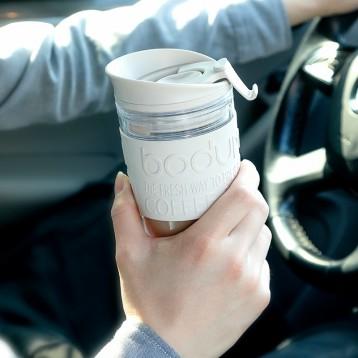 單件包郵,Bodum 波頓 法壓咖啡旅行杯350ml 黑色