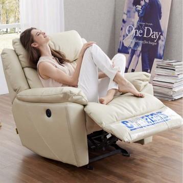 新低1299元包邮【苏宁易购预售】CHEERS 芝华仕 K561 头等舱科技布艺功能沙发