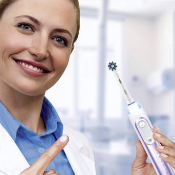 Oral-B 欧乐B Genius X Limited 紫色限定版 AI智能3D声波电动牙刷 亚马逊海外购