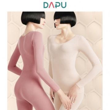 2020秋季新款,DAPU 大朴 玻尿酸德绒美体保暖内衣套装