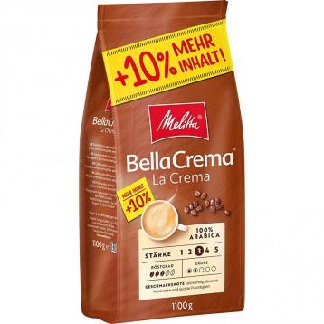 10%加量版:Melitta美樂家 Bella Crema 100%阿拉比卡咖啡豆1.1KG裝