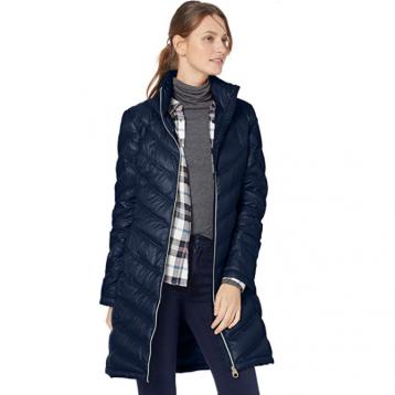Calvin Klein 卡尔文·克莱恩 Chevron 女士轻量防寒羽绒服