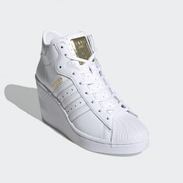 769元包邮!阿迪达斯 SUPERSTAR ELLURE W 经典增高运动鞋