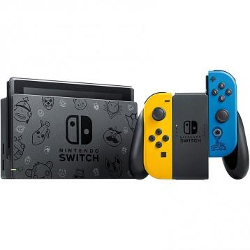 2064.91元英國直郵!Nintendo 任天堂 Switch游戲主機 續航增強版 堡壘之夜配色
