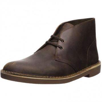 264元美国直邮!Clarks Bushacre 2 Chukka 男款 蜜蜡皮沙漠靴