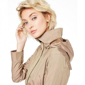 $76.50美金!Cole Haan 可汗 Packable Hooded Raincoat 连帽风雨衣(多色)