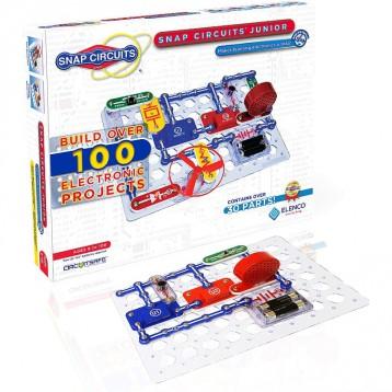 电学启蒙:Snap Circuits SC-100 小型电路拼插探索玩具套装(8岁以上)