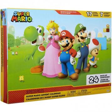 补货!311.67元【稀有0税免邮】Nintendo任天堂 超级马里奥玩偶圣诞日历礼盒手办盲盒