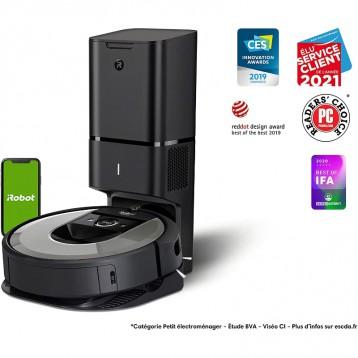 5395.41元德国直邮!iRobot Roomba i7+ (i7556) 扫地机器人 自动吸尘站